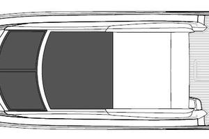 53' Sunseeker Predator 53 2013 Manufacturer Provided Image: Sunseeker Predator 53 Exterior Layout Plan