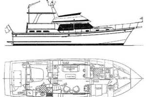 48' Offshore Yachts 48 Yachtfisher 1987 Manufacturer Provided Image