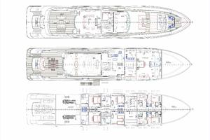 154' Motor Yacht Motor Yacht 2021 General Arrangement