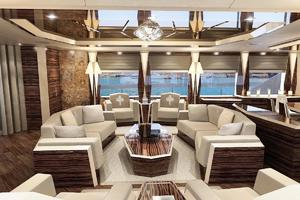 154' Hull #1 Motor Yacht 2019 Main Salon