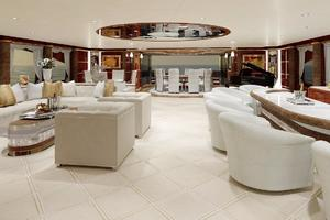 246' Custom Motor Yacht 2022 Main Deck Salon
