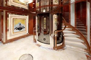 246' Custom Motor Yacht 2023 Main Deck Hall