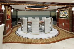 246' Custom Motor Yacht 2023 Main Deck Salon