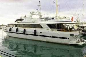 109' Azimut 105 Fly 1991 Port Profile