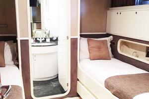 109' Azimut 105 Fly 1991 Twin Stateroom