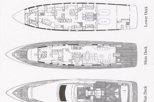 109' Azimut 105 Fly 1991 Layout