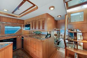 70' Marlow 70e 2008 Galley