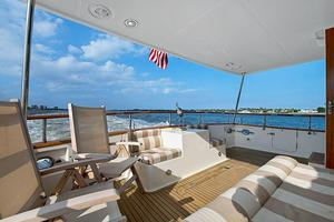 70' Marlow 70e 2008 Aft Deck Seating