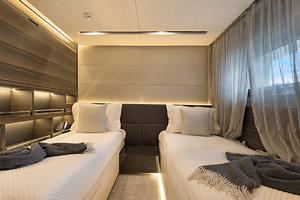 123' Admiral Motor Yacht 2014 Twin Guest Stateroom