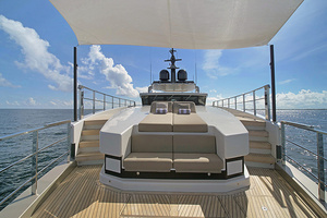 123' Admiral Motor Yacht 2014 Bow Seating Area