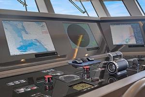 123' Admiral Motor Yacht 2014 Helm Station