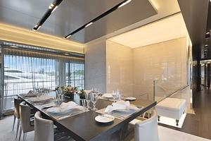 123' Admiral Motor Yacht 2014 Formal Dining