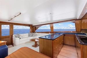61' Viking 61' Convertible 2005 Galley