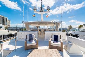 78' Ocean Alexander 74' Pilothouse Motor 2010 Boat Deck
