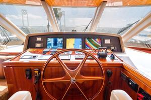 78' Ocean Alexander 74' Pilothouse Motor 2010 Pilothouse Helm