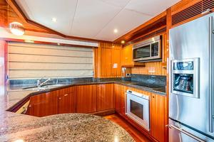78' Ocean Alexander 74' Pilothouse Motor 2010 Gallley