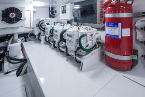 Viking 62 - Engine Room