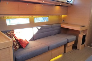 51' Dufour 51 2017 2017 Dufour 512GL - Starboard settee and nav station