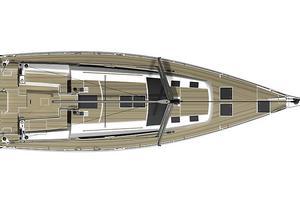 51' Dufour 51 2017 2017 Dufour 512GL - Deck layout