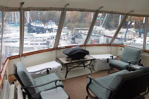 Hatteras-Motoryacht-1984-Proud-Mary-Annapolis-Maryland-United-States-Stern-Deck-920782