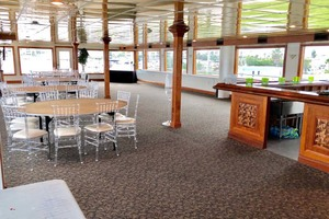 128' Custom Keith Marine Dinner Boat 2006 Deck 3 Commodore Room