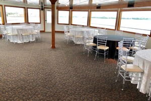 128' Custom Keith Marine Dinner Boat 2006 Deck 2 The Crystal Room