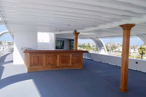 128' Custom Keith Marine Dinner Boat 2006 Deck 4 Sky Lounge