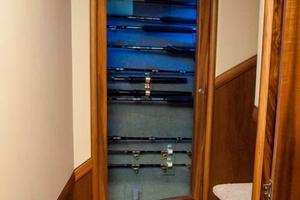 photo of F&S-Convertible-2013-Triple-F-Coral-Gables-Florida-United-States-Companionway-and-Rod-Storage-1016947