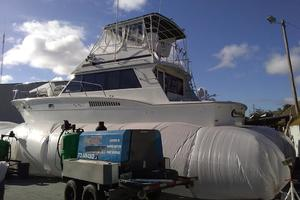 photo of Hatteras-50-Convertible-1981-2009-Repower-Stuart-Florida-United-States-On-the-Hard-372120