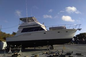 photo of Hatteras-50-Convertible-1981-2009-Repower-Stuart-Florida-United-States-On-the-Hard-372121