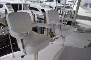 photo of Hatteras-50-Convertible-1981-2009-Repower-Stuart-Florida-United-States-Helm-Chairs-372079