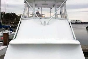 photo of Hatteras-36-Convertible-1977-Hi-Ho-Beaufort-South-Carolina-United-States-Foredeck-Looking-Aft-to-Flybridge-372169