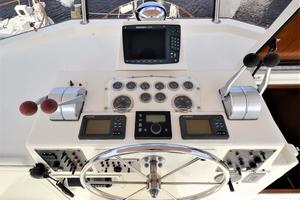Hatteras-Motor-Yacht-1987-I-One-Jacksonville-Florida-United-States-Flybridge-Controls-920138