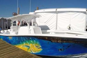 39' Yellowfin 39 2016 Starboard Bow