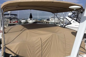 39' Mainship 390 Trawler 2001 Flybridge Cover