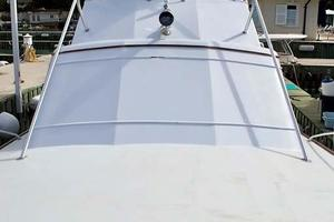 51' Buddy Davis 51 Custom Carolina Sportfish 1988 Foredeck Looking Aft