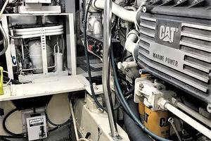 53' Ocean Yachts 53 Super Sport 1998 Starboard Engine