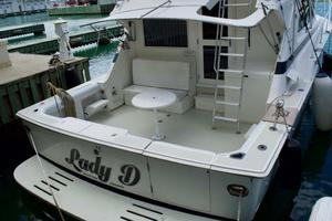 photo of Bertram-43-Convertible-1989-Lady-D-St.-Peter-Barbados-Stern-930053