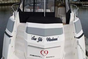52' Regal 52 Sport Coupe 2008 Transom