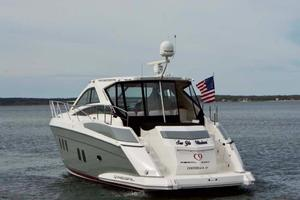 52' Regal 52 Sport Coupe 2008 Aft Profile