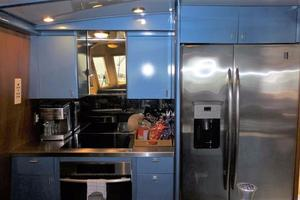 72' Custom Carolina Motor Yacht 2000 Galley Appliances