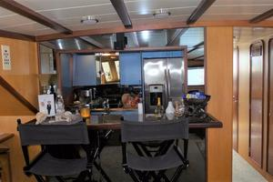 72' Custom Carolina Motor Yacht 2000 Galley Passthrough