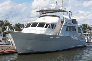 72' Custom Carolina Motor Yacht 2000 Port Bow