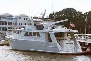 72' Custom Carolina Motor Yacht 2000 Port Aft Quarter