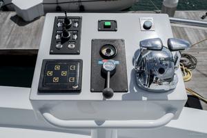 115' Westport - Crescent Tri-Deck Motoryacht 1994 BOAT DECK DOCKING STATION