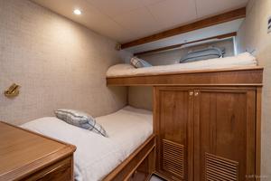 115' Westport - Crescent Tri-deck Motoryacht 1994 CREW STATEROOM NO 2