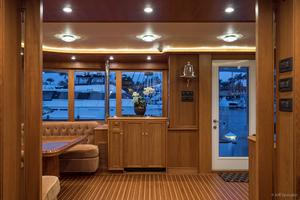 115' Westport - Crescent Tri-deck Motoryacht 1994 SUN LOUNGE