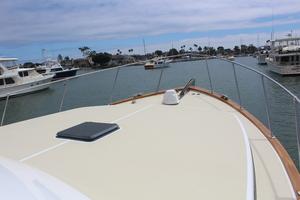 60' Vic Franck Custom Pilothouse Motoryacht 1984 BOW