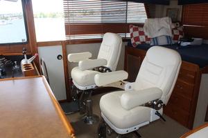 60' Vic Franck Custom Pilothouse Motoryacht 1984 HELM
