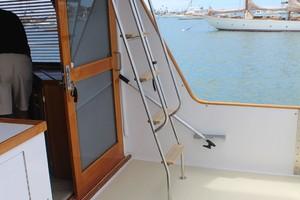 60' Vic Franck Custom Pilothouse Motoryacht 1984 COCKPIT